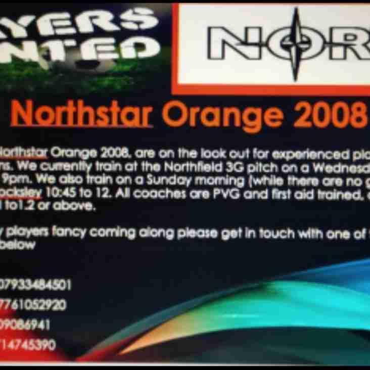 Northstar Orange 2008s