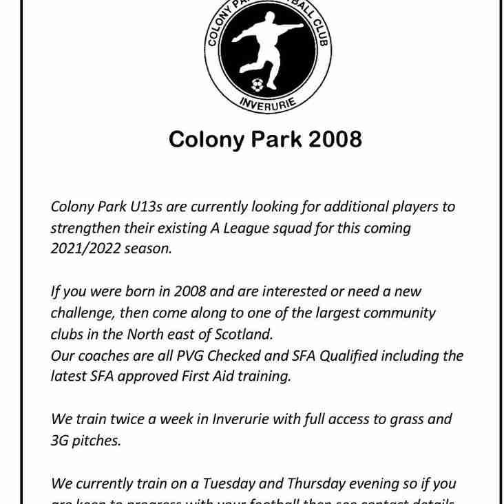 Colony Park 2008s