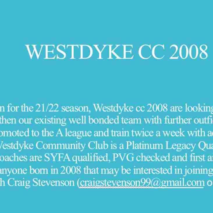 Westdyke CC 2008s