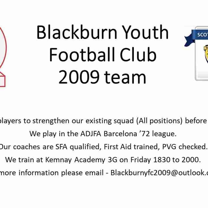 Blackburn YFC 2009s