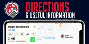 Directions & Useful Information for visiting teams