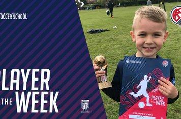Soccer School Player of the Week.... Leo