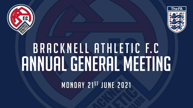 Bracknell Athletic F.C Annual General Meeting