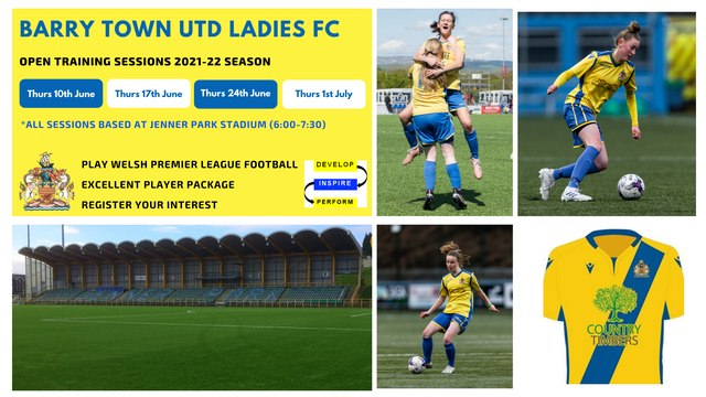 Ladies & U19 Player Recruitment 2021-22