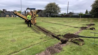 Pitch Drainage