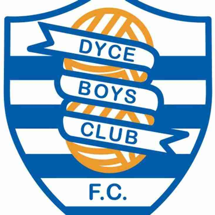 Dyce BC 2007s Looking for Outfield Players