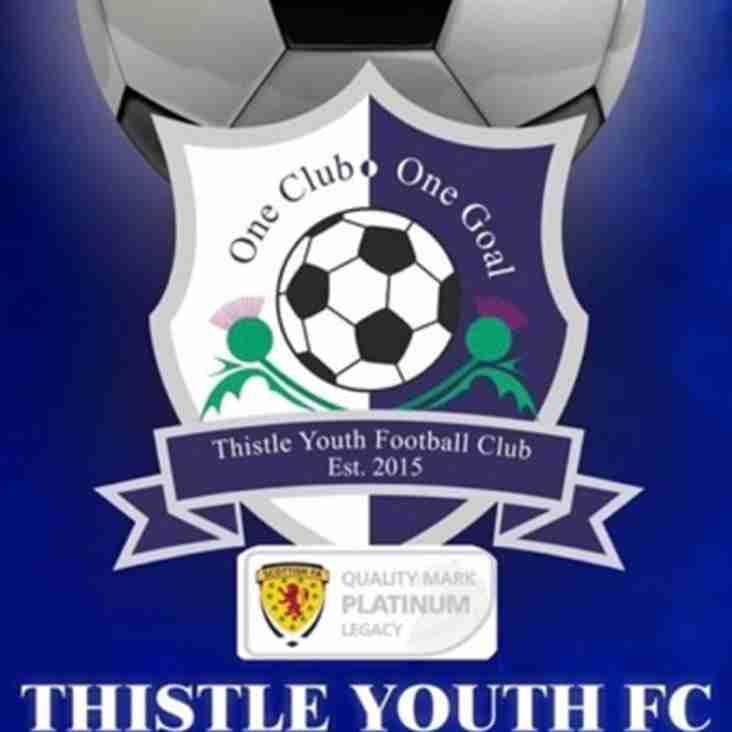 Thistle Youth FC 2005s Seek Goalkeeper
