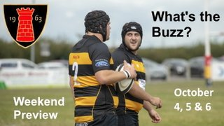 WEEKEND RUGBY PREVIEW – OCTOBER 4, 5 & 6