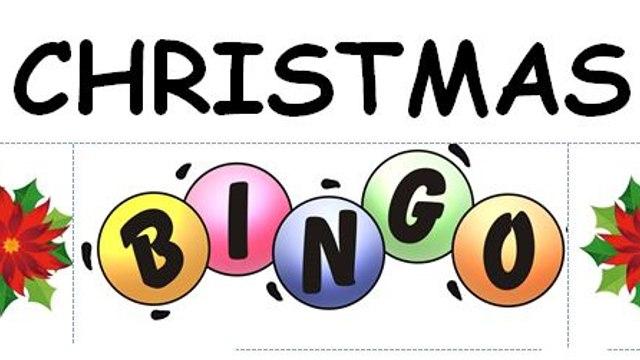 Llandrindod Wells CASH CHRISTMAS BINGO Sunday 13th December £500 Prize fund