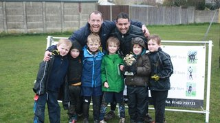 U7 winners on tour at Dover