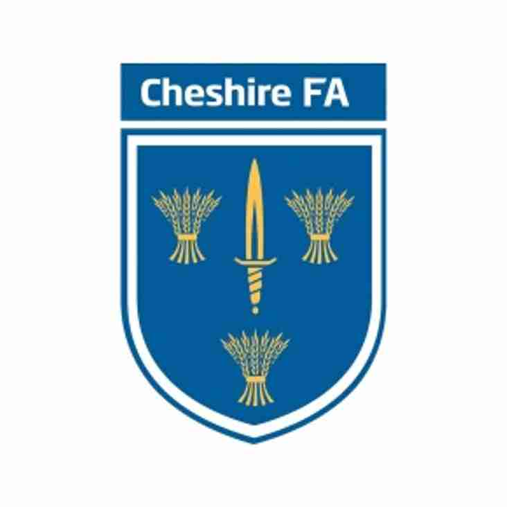 Cheshire FA News Letter - Interview with Referee Jack Blakemore