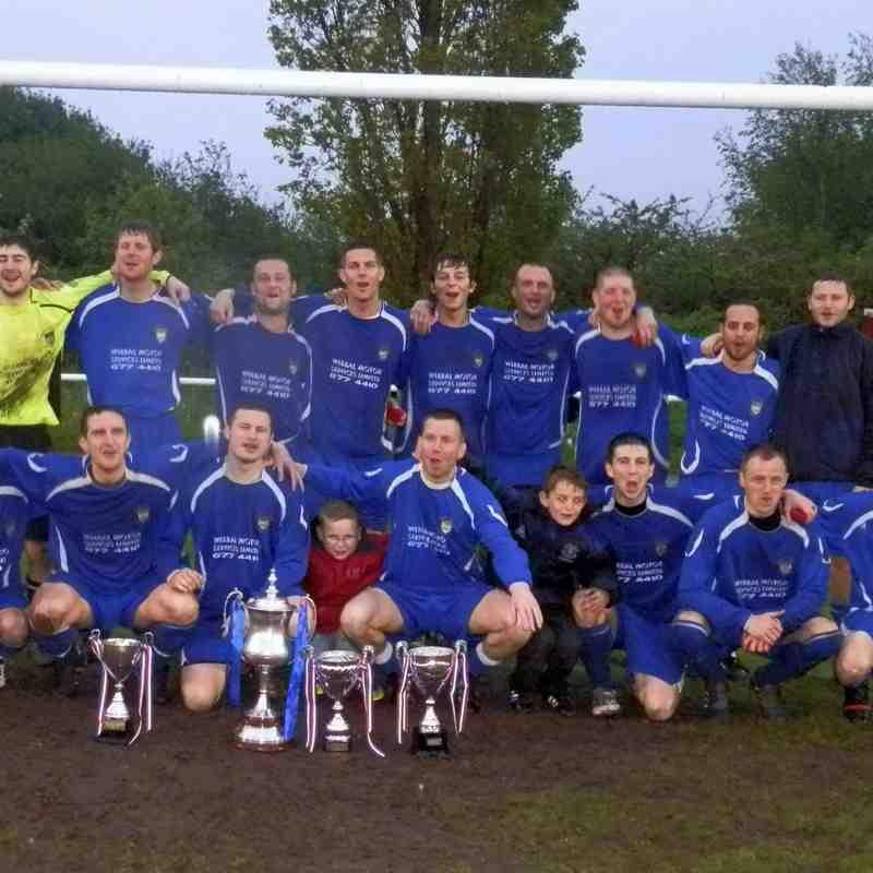 Premier Division Cup Final - Poulton Royal v Windsor FC 2012