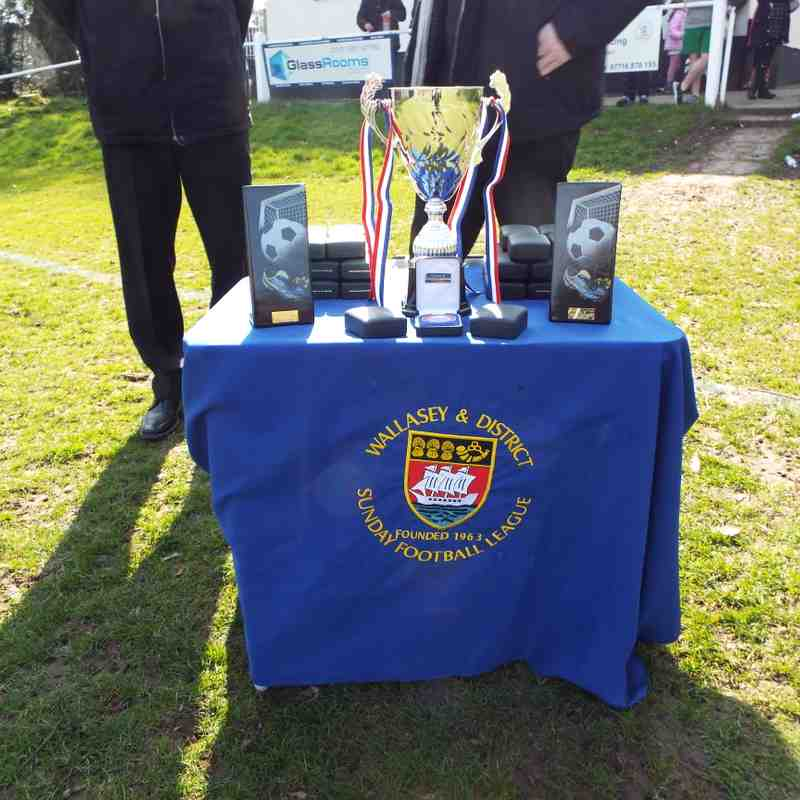 Second Division Cup Final 22nd March 2015 Vineyard v Wallasey Oval FC