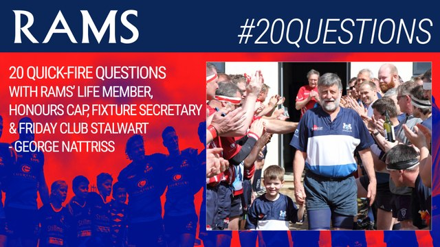 20 QUESTIONS WITH...GEORGE NATTRISS!