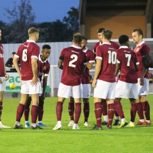 Bar in Disappointing Defeat Against Corinthian Casuals
