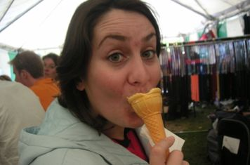 Natasha and Ice creams...