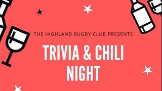 Trivia and Chili Night