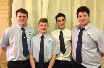 Will Tindall, James Malcolmson, Archie Smeaton, Will Robinson