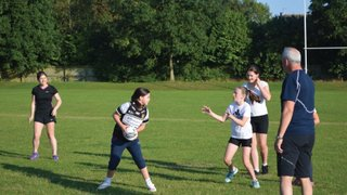 Girls rugby