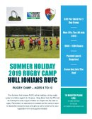 Summer rugby