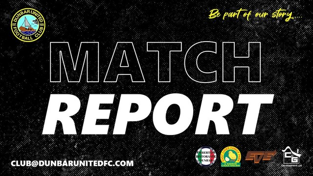 Ormiston v Dunbar United Match Report