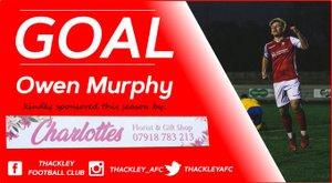 Knaresborough Town 2 Thackley 1 - Match Report.