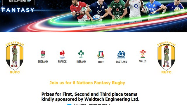 6 Nations Fantasy Rugby