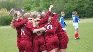 St Francis U16 Girls - League Winners 2014/15