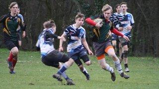 U16 Away at Mowden Park 03-02-13