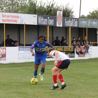 Witham Town 0, Romford 2