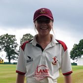 Two wickets on league debut for Maddie Coleman