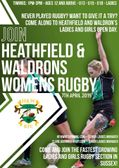 Ladies & Girls open day   Sunday 7th April1.00pm....