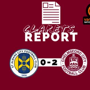St Albans City 0 – 2 Chelmsford City