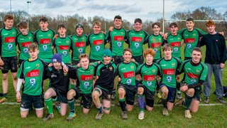 U16s Heathfield narrowly  win 12 try thriller at Uckfield