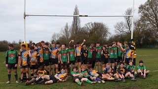 U16s enjoy a terrific contest on mini tour in deepest Essex