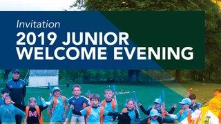 Junior Welcome Evening 2019