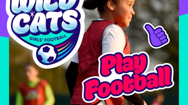 FOOTBALL FOR GIRLS AGED 5-7!