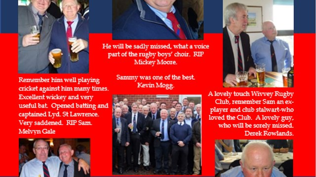 RUGBY CLUB REMEMBERS