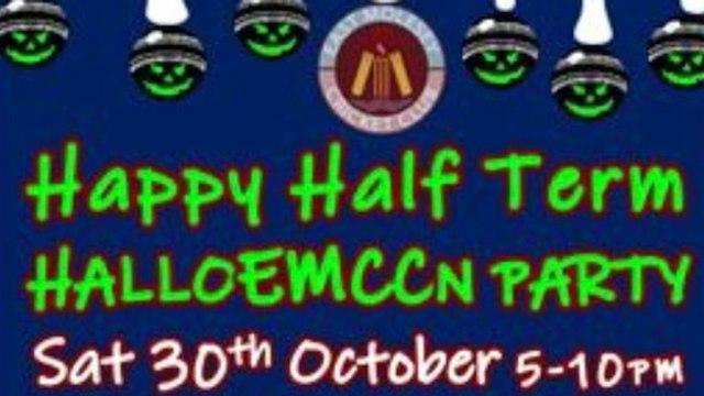 EMCC's Half Term Halloween Party