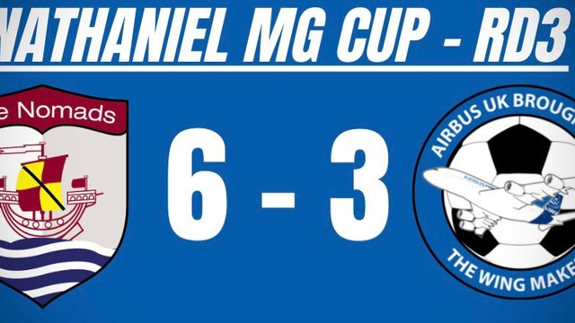 The Wingmakers suffer defeat for the first time in nine despite valiant performance against Connah's Quay Nomads in the Nathaniel MG Cup.