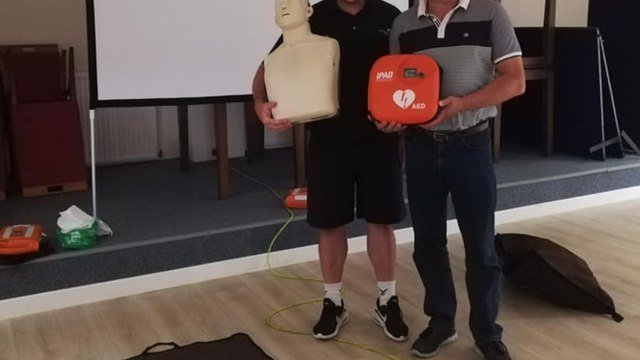 CPR and Defibrillator Training