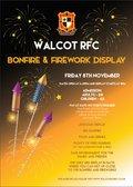 Walcot Fireworks and Bonfire night