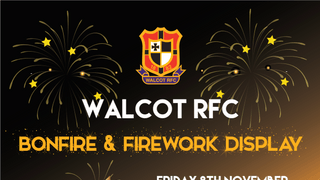 Walcot Fireworks and Bonfire night