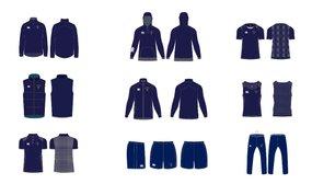 New Canterbury range on club kit shop