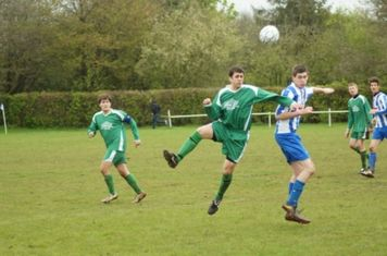 Chadlingtons Toby Walker challenging in the second half