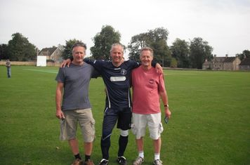 Chadlington legends Dave, Paul and Tim Catling