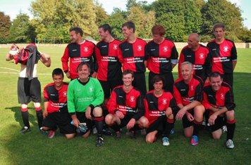 Chadlington Reserves 0 Witney Royals A 0. 22nd September 2012.