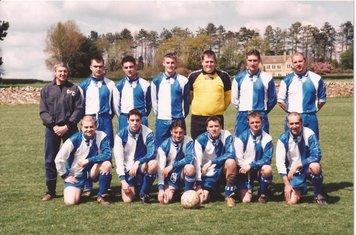WDFA 2000. Back Row (L-R) B Mulhearn, T Burden, R McCabe, A Robson, M Shepherd, S Bridges. Front Row (L-R) S Catling, K Mulhearn, R Johnson, S Sykes, D Souch