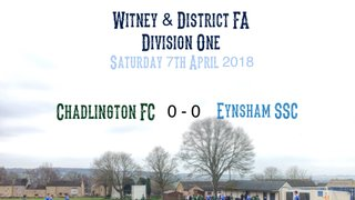 Weekend Results (7th April 2018)