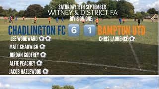 Weekend Results (15th Sept 2018) - DOUBLE WIN ON OPENING DAY!